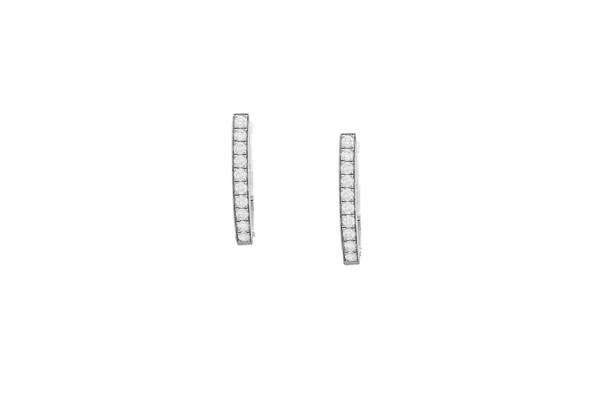 Dangling Amethyst Earrings
