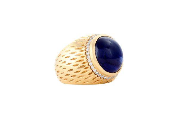 Blue Eagle Ring