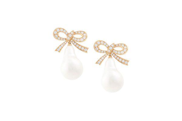 Flying Pearl Earrings