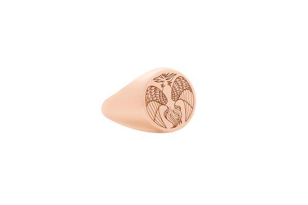 Phoenix Signet Ring