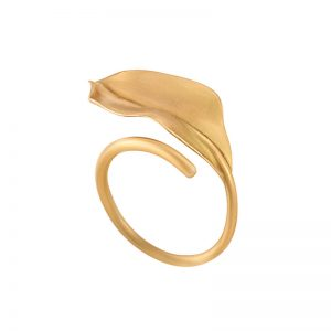 Shrimp Leaf Ring