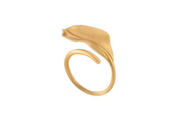 Shrimp Leaf Ring