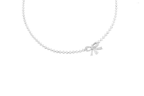 Flying Diamond Necklace