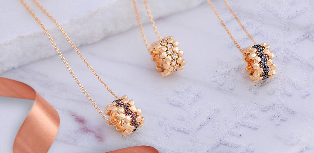 مجموعة مجوهرات هارموني الجميلة