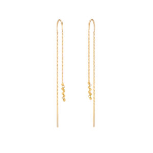 Harmony Chain Earrings (Gold)