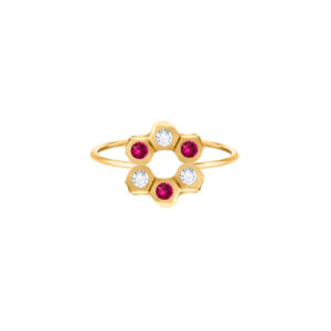 Harmony Flower Ring