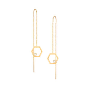 Harmony Hexagone Earrings
