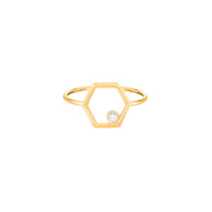 Harmony Hexagone Ring