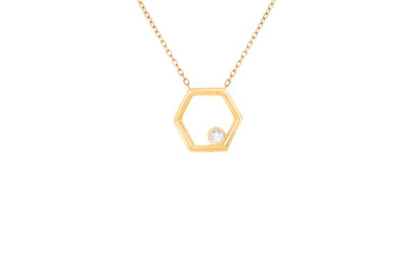 Harmony Hexagone Pendant