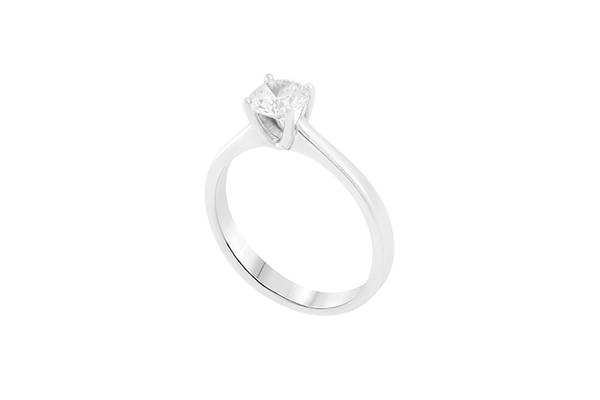 Diamond Engagement Ring 4 Prongs