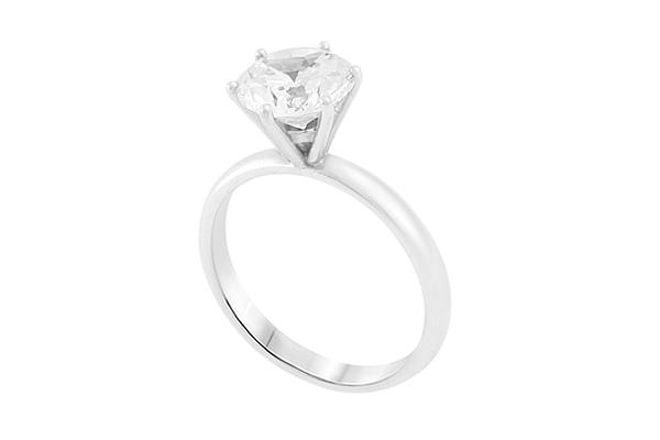 Diamond Engagement Ring 6 Prongs