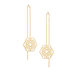 Hexagone Earrings