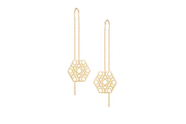 Hexagone Earrings