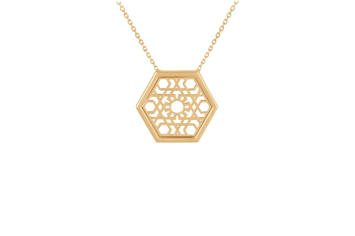 Hexagone Pendant